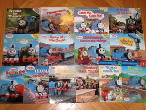Lot 14 THOMAS THE TANK ENGINE Picture Books & Readers L3