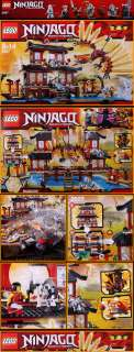 New LEGO 2507 Ninjago NINJA Fire Temple Set 1174pcs