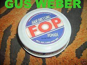 Brother Where Art Thou Fop Hair pomade no Dapper Dan
