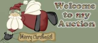 Christmas Mat PATTERN New design Santas Hats