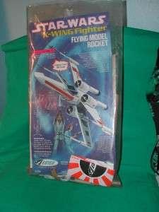 Vintage 1977 1st Issue Estes Star Wars X Wing Fighter Rocket MIB No