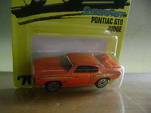 MATCHBOX 1996 PONTIAC GTO JUDGE ORANGE #70