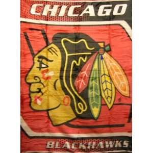 Officially Licensed NHL Chicago Blackhawks Korean Mink