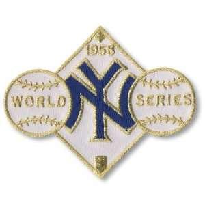 1958 New York Yankees World Series Championship Patch