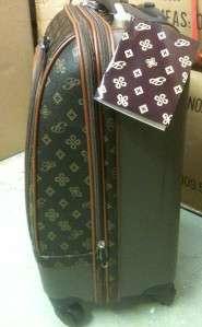 New Rolling Designer Inspired Monogram Luggage 24 Travel Suitcase Bag