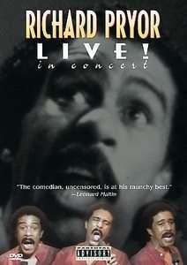 Richard Pryor   Live in Concert DVD, 1998