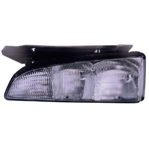 HEADLIGHT ASY LEFT (DRIVER SIDE) (WITH BLK EDGE) 1992 1993 Automotive