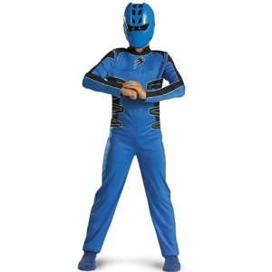 Power Ranger Blue Quality Costume Child Medium 7 8 Toys