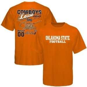 Texas Longhorns Orange Cowboys Lasso Score T shirt