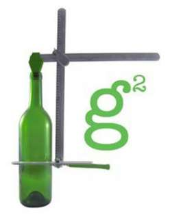 Green Glass Wine Bottle Jar Cutter Diamond Tech 79436600365 1