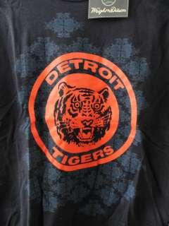 Detroit Tigers MLB Wright & Ditson T Shirt Youth Medium NWT Blue