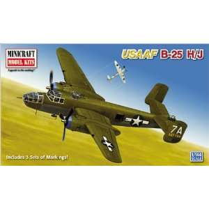 Minicraft Models B25H/J Mitchell 1/144 Scale Toys & Games