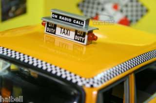 1981 NEW YORK CHECKER TAXI CAB NYC A11 1/18 SUN STAR