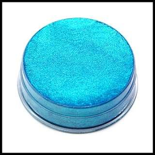 Kryolan Iridescent Turquoise GB Green/Blue Aquacolor Cream Eyeshadow