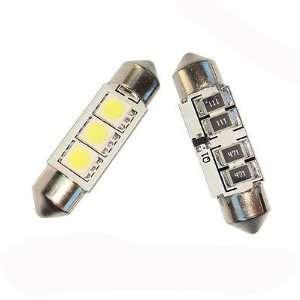 No Error 1036 3423 6418 Canbus SMD LED Light Bulbs BMW Benz Audi White