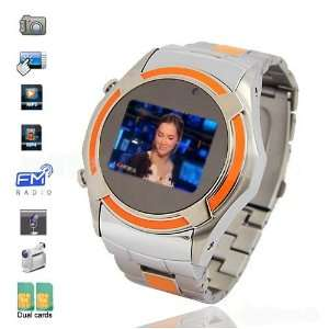 VIP Watch Cell Phone Mobile Dual Sim Dual Standby 1GB