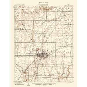 USGS TOPO MAP MARION QUAD OHIO (OH) 1905 Home & Kitchen