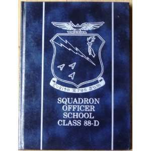 Squadron Officer School Class 88   D, Maxwell Air Force Base Lt