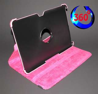 Crocodile Leather Cover Case for Samsung Galaxy Tab 10.1   PINK