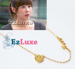 DEFEND PROTECT THE BOSS Happy Smile Necklace Love Heart letter font