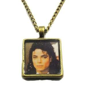 Necklace Michael Jackson Brone Tone Necklace Arts, Crafts & Sewing