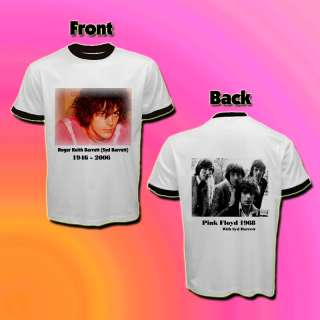 Pink Floyd Syd Barrett White T shirt S/M/L/XL/2XL