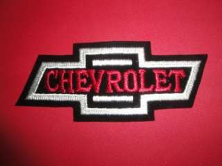 Stitched Patch Hat Jacket Chevy Bow Tie 5 Chevy Classic Logo