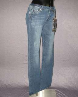 NWT Womens LA IDOL Jeans SILVER STITCHING WITH CRYSTALS 830LP