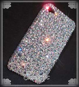 Super Bling High Quality Crystal Case Cover for Apple iPhone 4 4S _S1