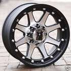 18 inch Black Wheels rims KMC XD 798 FORD F250 350 supe