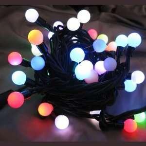 Christmas Lights UL0926GM Twinkle LED Globe Multi Color Light