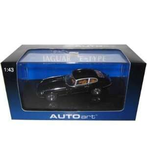 Jaguar E Type Coupe Black V12 1/43 Diecast Car Model