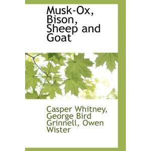 Musk Ox, Bison, Sheep and Goat (9781110811489): George