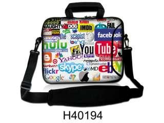 Hot 14.1 15.6 inch Laptop Sleeve Bag Case Cover+Shoulder