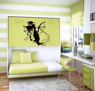 DRAGON WALL ART STICKER BABY ROOM NURSERY B1058