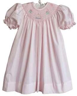 Petit Ami Baby Girls Smocked Birthday Party Dress 24M