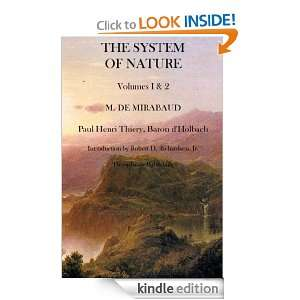 The System of Nature: Paul Henri Thiery:  Kindle Store