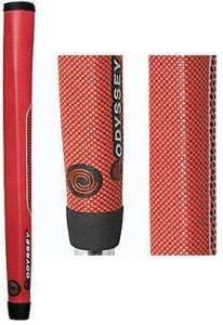 CALLAWAY ODYSSEY White STEEL Putter Golf Grip NEW RED