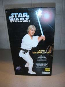 1995 STAR WARS LUKE SKYWALKER VINYL POLYDATA MODEL KIT