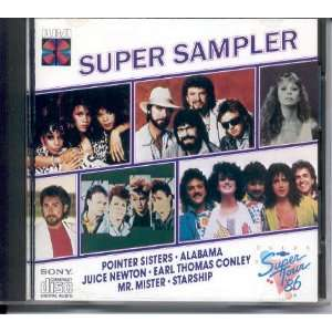 Super Sampler { Various Artists } Pointer Sisters
