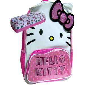 Casual Hello Kitty Girls Backpack Pink and Tin Case Toys