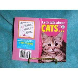 Lets Talk About Cats: Tom Kunci:  Books