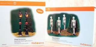 DEPT 56 Costumes For Sale HALLOWEEN Spooky TA 54973