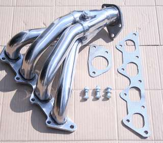 T304 JDM STAINLESS STEEL EXHAUST RACING HEADER   MITSUBISHI ECLIPSE 2