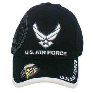 FORCE MILITARY SEAL LICENSED BLACK WHITE HAT CAP