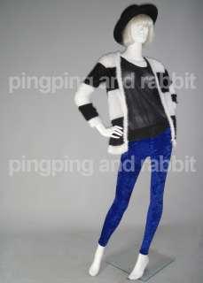 Lush Blue Navy Spandex Leggings Pants Tights Winter Thick