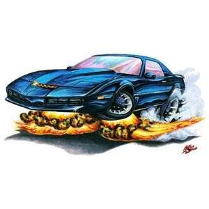 24 *Firebreather* Knight Rider KITT cartoon Car Wall
