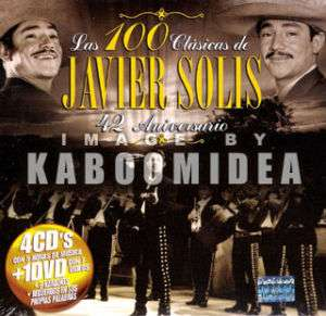 JAVIER SOLIS Las 100 Clasicas 4 CD + 1 DVD EXITOS NEW