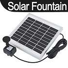 9V Solar Panel Power Fountain Pool Water Pump Garden Plant Watering