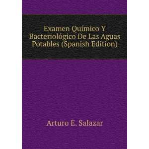 De Las Aguas Potables (Spanish Edition) Arturo E. Salazar Books